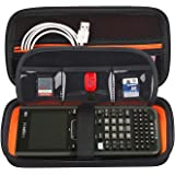 BOVKE Graphing Calculator Carrying Case for Texas Instruments TI-Nspire CX CAS/CX II CAS Color Graphing Calculator and More -