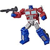 Transformers Toys Generations War for Cybertron: Kingdom Core Class WFC-K1 Optimus Prime Action Figure - Kids Ages 8 and Up,