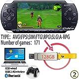Tensna Retro Arcade Game built-in 171 HD Classic PSP Games Video 128G USB Memory Stick Plug & play