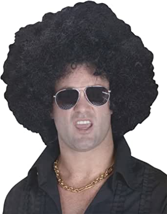 High Afro Costume Wig