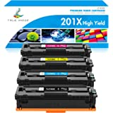 True Image Compatible Toner Cartridge Replacement for HP 201X CF400X 201A CF400A CF401X CF402X CF403X Laserjet MFP M277dw M27