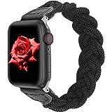【Amazon限定ブランド】Wearlizer Apple Watch バンド/アップルウォッチ バンド Apple Watch SE/6/5/4/3/2/1に対応 【2021年最新スタイル】Apple Watch 42mm 44mm デッドソロルー