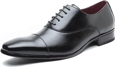 (ベストME)BESTME ビジネスシューズ メンズ 本革 紳士靴 ウォーキング 内羽根 ストレートチップ ブラック
