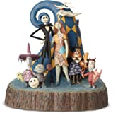 """Enesco 6001287 Disney Traditions by Jim Shore Nightmare Before Christmas Carved by Heart Figurine 8"""" Multicolor"""