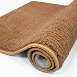"""Color&Geometry Indoor Doormat 32""""x40"""" Non Slip Backing Machine Washable Super Absorbent Inside Mats, Low-Profile Rug Doormats"""