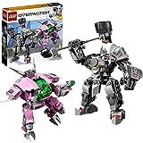 【Amazon.co.jp限定】レゴ(LEGO) オーバーウォッチ D.Va & ラインハルト 75973