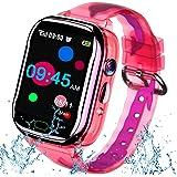 iGeeKid Kids Smart Watch Phone-IP67 Waterproof Smartwatch Boys Girls Toddler Digital Wrist Watch 1.44'' IPS Touch,Calls,Camer