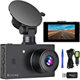"""Milerong Dash Camera for Cars【2020 New Version】 1080P FHD DVR Dash Cams, 3"""" LCD Screen 170° Wide Angle Car Camera with Night"""
