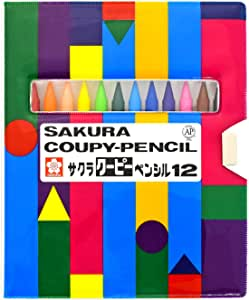 クーピーペンシル12色ソフトケース
