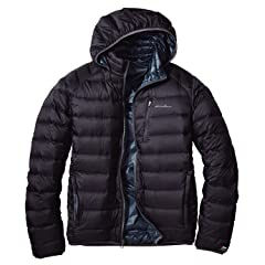 EB900 Fill Power Plus Reversible Down Hooded Jacket 019241: Black / Nordic