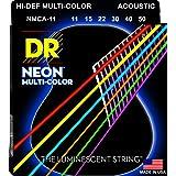 DR Strings HI-DEF NEON Acoustic Guitar Strings (NMCA-11)