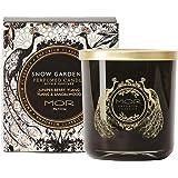 MOR Boutique Emporium Classics Snowgardenia Fragrant Candle, Snowgardniea, Scented, 390ml