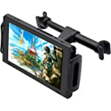 "FYOUNG Car Headrest Mount for Nintendo Switch, Adjustable Car Holder for Nintendo Switch/iPhone/iPad and Other Tablets (4""-11"