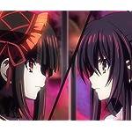 デート・ア ・ライブ Android(960×800)待ち受け 時崎 狂三(ときさき くるみ),夜刀神 十香(やとがみ とおか)