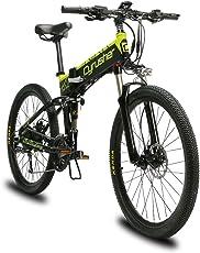 EXCY(エクシ) XF770 自転車 折り畳み MTB 26インチ 500w 48V10ahリチウム 27段速 マウンテンバイク デスクブレーキ 通勤 通学 山登り