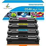 TRUE IMAGE Compatible Toner Cartridge Replacement for Canon 054 054H Toner Canon Color ImageCLASS MF644Cdw MF642Cdw LBP622Cdw