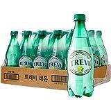Lotte Trevi Sparkling Water Lemon Natural, Lemon, 500 ml, (Pack of 20)
