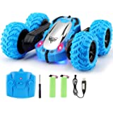 Tobeape RC Cars, 4WD Off Road Remote Control Car, Double Sided Rotation Stunt Car, 360°Spin Flips Vehicle, 2.4GHz RC Stunt Ca