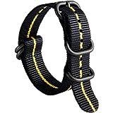 NATO ストラップ ズールー 腕時計バンド 時計 ベルト G10 プレミアム バリスティック ナイロン 交換用 男性用…