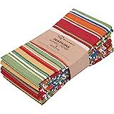 "Ruvanti Table Cloth Napkins 6 Pack(100% Cotton 18"" X 18"") Dinner Napkins,Soft & Comfortable Cotton Napkins. Multi Color Luxur"