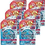 【ケース販売】トップ スーパーナノックス 洗濯洗剤 液体 詰替特大 1300g×6個