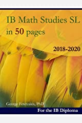 IB Math Studies in 50 pages: 2018-2020 ペーパーバック