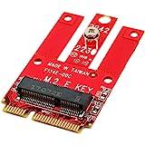 Ableconn MPEX-M2WL Mini PCIe Adapter M.2 Key E Slot - Support PCIe USB Based M.2 E Key A-E Key Module Mini PCI Express - Work