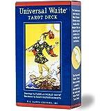 タロットカード 78枚 ライダー版 タロット占い 【 ユニバーサル ウェイト タロット Universal Waite Tarot Deck】日本語解説書付き [正規品]
