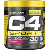 C4 Sport Pre Workout Powder Watermelon - NSF Certified for Sport + Preworkout Energy Supplement for Men & Women - 135mg Caffe