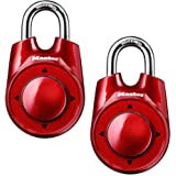 Master Lock 1500iD 2 Pack 2-1/8in. Wide Speed Dial Directional Combination Padlock