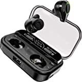 U-ROK Wireless Earphones Bluetooth 5.0 Earbuds with 4000mAh Charging Case LED Digital Display Touch Control 90H Playtime in-E