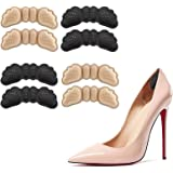 Home-Mart High Heel Pads (4 pcs) - High Heel Inserts, Heel Grips (2 Pair Thin, 2 Pair Thick) Heel Grip Shoe Pads for Loose Sh