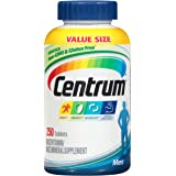 Centrum Multivitamin for Men, Multivitamin/Multimineral Supplement with Vitamin D3, B Vitamins and Antioxidants - 250 Count