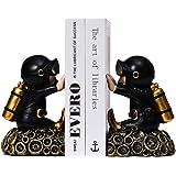 Decorative Diver Theme Bookend, 1 Pair Nonskid Bookends Art Bookend Decorative Bookends, Resin Decorative Bookshelf Bookends