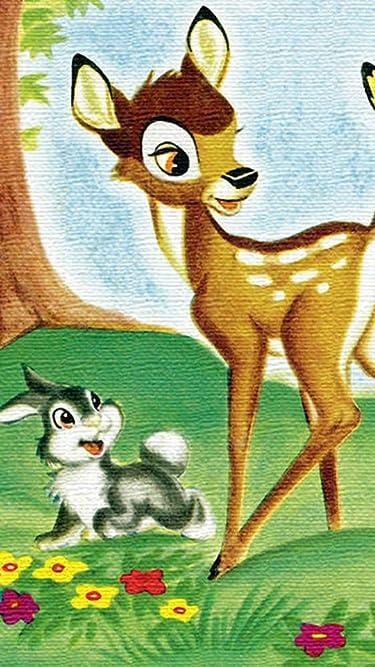 ディズニー  iPhone/Androidスマホ壁紙(540×960)-1 - バンビ