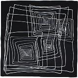 Dahlia Women's 100% Square Silk Scarf - Various Design Neckerchief