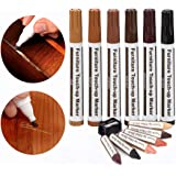 Furniture Repair Wood Repair Markers Touch Up Repair pen-13PC-Markers and Wax Sticks,for Stains,Scratches,Wood Floors,Tables,