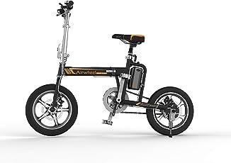 Airwheel R5 簡単 折りたたみ自転車 16インチ パナソニック製30.5v 18Ah バッテリー 電動アシスト自転車
