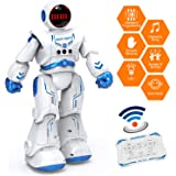 Sweet Alice Astronaut Robot Toy for Kids, Boy& Girl Gifts for 3+ Years Old Kid RC Robot Toys with Remote Control& Gesture Sen
