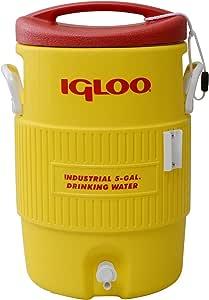 igloo(イグルー) ウォータージャグ400S 2ガロン(約8L) イエロー/レッド #421