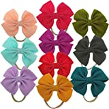 Baby Girl Headbands with Bows Knotted Hair Accessories for Newborn Toddler Girls
