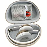 Gold On-Ear Headphone Case for Beats Solo3, Solo2 Wired, Solo HD Wired, Mkay Wireless, Esonstyle, Riwbox XBT-80, iJoy, Edifie