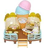 シルバニアファミリー シーサイドシリーズ 海辺のアイスクリームパーラー