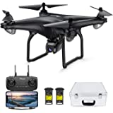 Potensic D58 Drone with 4K Camera for Adults, 5G WiFi HD Live Video, GPS Auto Return, RC Quadcopter for Adult, Portable Case,