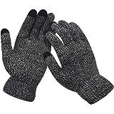 Winter Mens&Womens Touch Screen Gloves Knitted Non-slip Soft Gloves