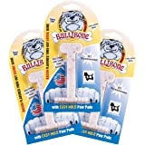Bullibone Dog Chews: Durable Dog Toys for Small Dogs and Aggressive Chewers. Long Lasting Bacon Flavored Dog Chews. Great for