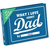 KNOCK KNOCK Fill in The Blanks Journal - What I Love About Dad