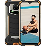 """Rugged Phone,DOOGEE S88 Pro IP68 Smartphone,10000 mAh Battery,6GB 128GB Helio P70 mobile phone Android 10,6.3"""" FHD+ Display,2"""