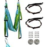 Yaegoo Aerial Yoga Trapeze Kit Body Hammock Yoga Swing Rigging for Antigravity Yoga Sling Inversion Hanging Equipment