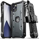 "Vena vArmor Apple iPhone 12 / 12 Pro (6.1""インチ) 専用 ケース (米軍MIL規格取得   落下 衝撃 吸収) 3重構造 携帯保護カバー 耐衝撃 スマホ ケースベルトクリップ ホルスター キックスタンド 機能"